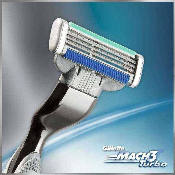 Gillette Mach3 Turbo Cartridges 10 Count Beauty