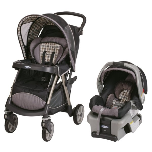 Graco Urbanlite Classic Connect Travel System Vance Baby - Car Seats