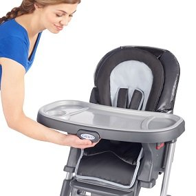 graco duodiner lx high chair green desk highchair reviews key features