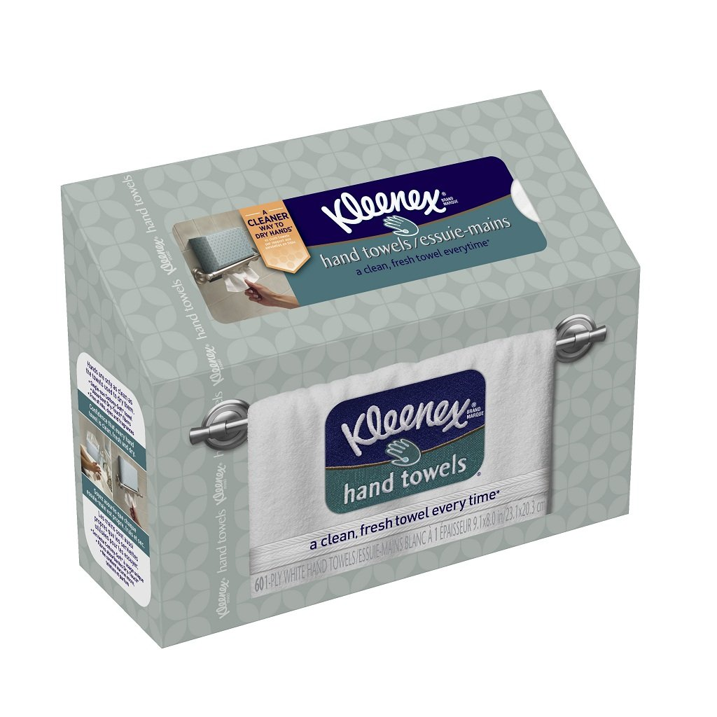 Kleenex Hand Towels 60 Count Pack 6 Tissue Paper White