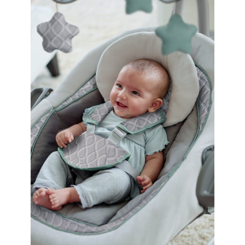 boppy baby chair green marbles racing office chairs south africa amazon graco duetconnect lx swing 43 bouncer manor