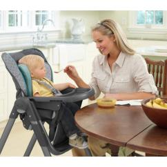 Graco Slim Spaces High Chair Children S Seat Height Amazon Highchair Manor Baby