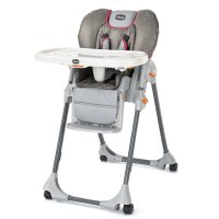 Amazon.com: Chicco Polly High Chair, Foxy (Discontinued by ...