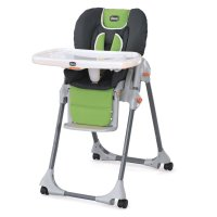 Amazon.com : Chicco Polly Double Pad Fabric Highchair ...