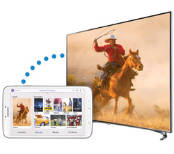 Samsung Galaxy Tab 3 8.0 - control and share