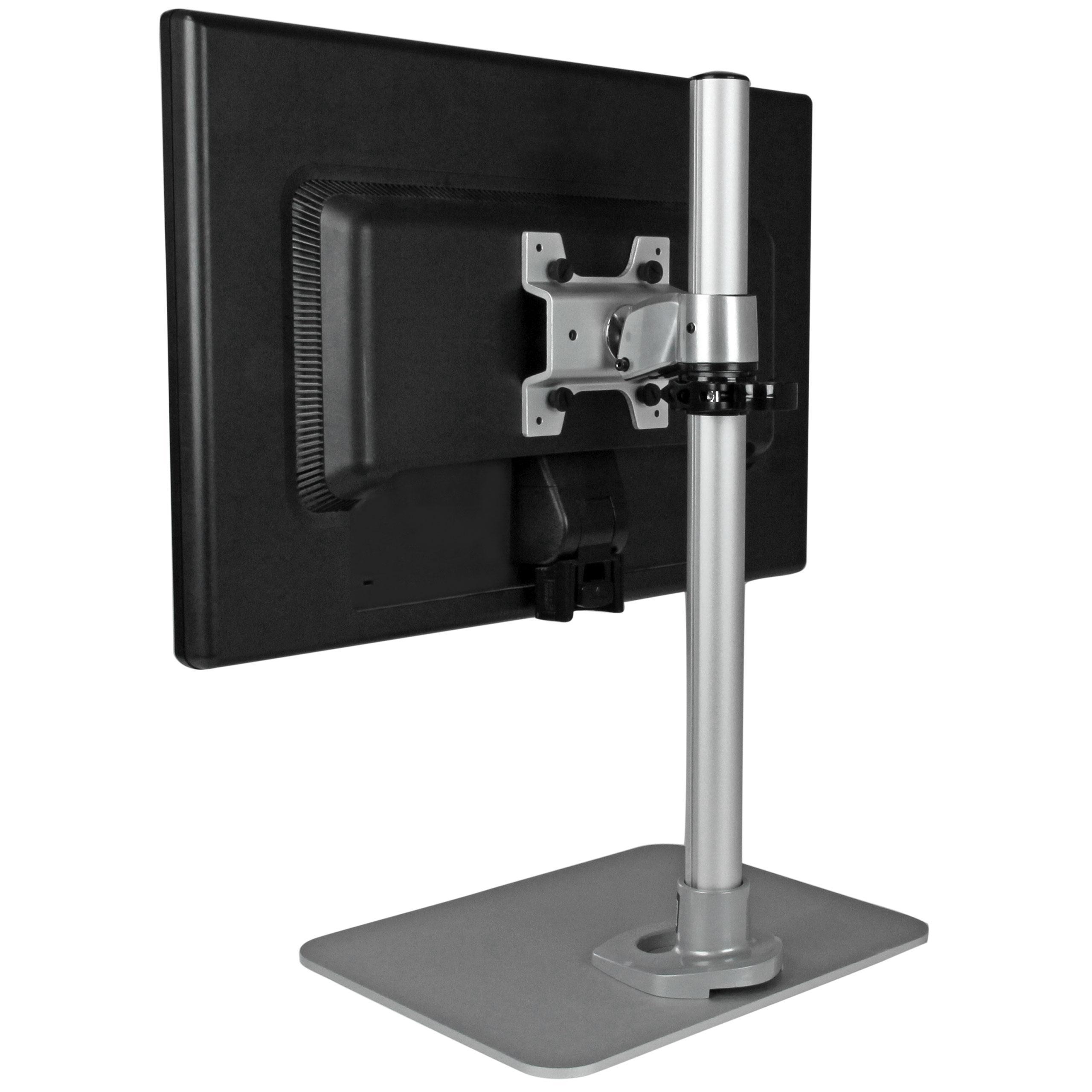 Amazoncom StarTechcom Single Monitor Stand  Silver