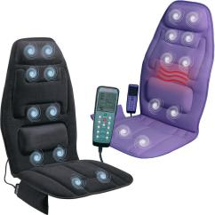 Massager Chair Pad Folding White Chairs Back Massage Cushion Seat Neck Car Heated Heater