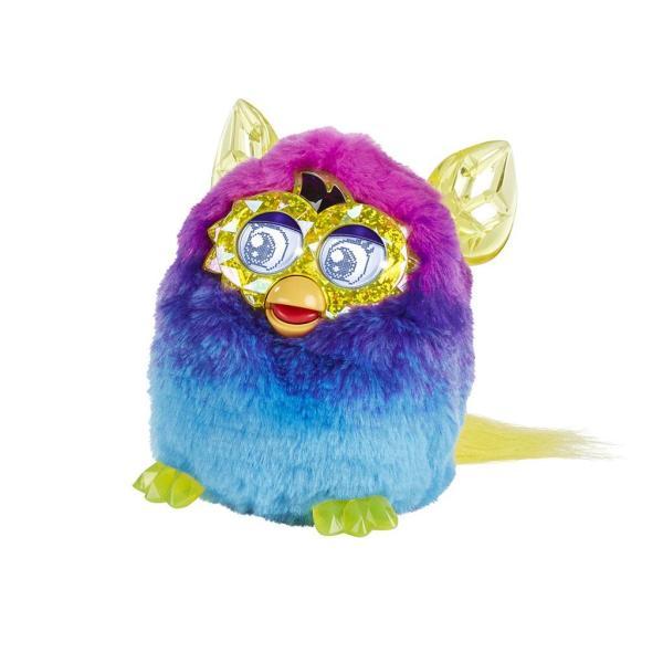 Furby Boom Crystal Series Pink Blue Ages 6 Talking Pet Toy Hasbro Girls Fun