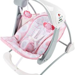 Baby Chair Swing Pink How To Cover Dining Room Chairs Amazon Fisher Price Deluxe Take Along And Seat
