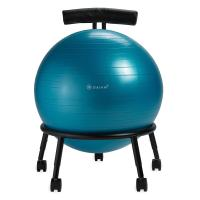 Amazon.com : Gaiam Custom Fit Adjustable Balance Ball ...