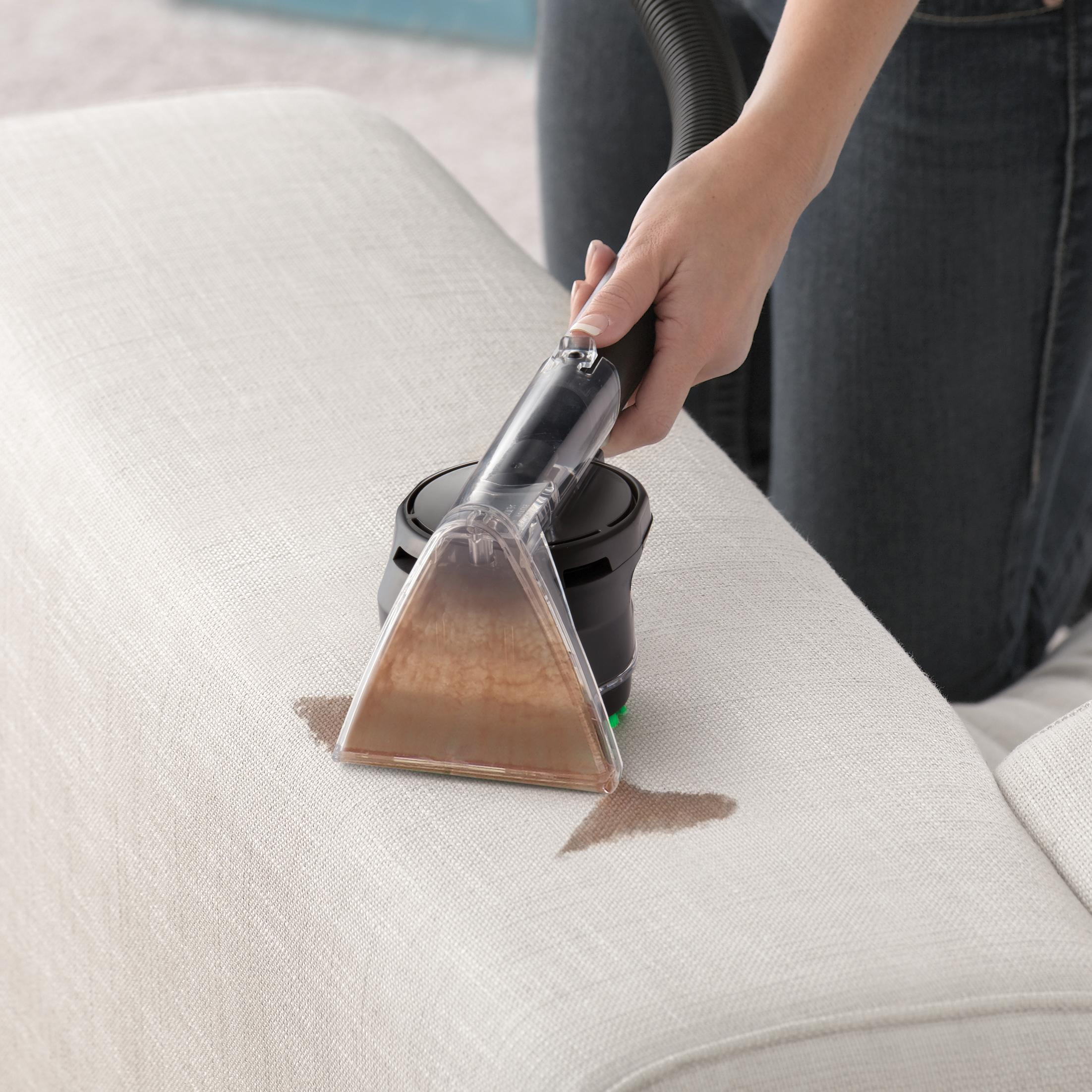 how to clean stains off your sofa walmart black sectional cleaner steam carpet steamvac surge machine
