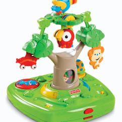 Fisher Price Rainforest Healthy Care High Chair 2 Large Rocking Cushions Amazon