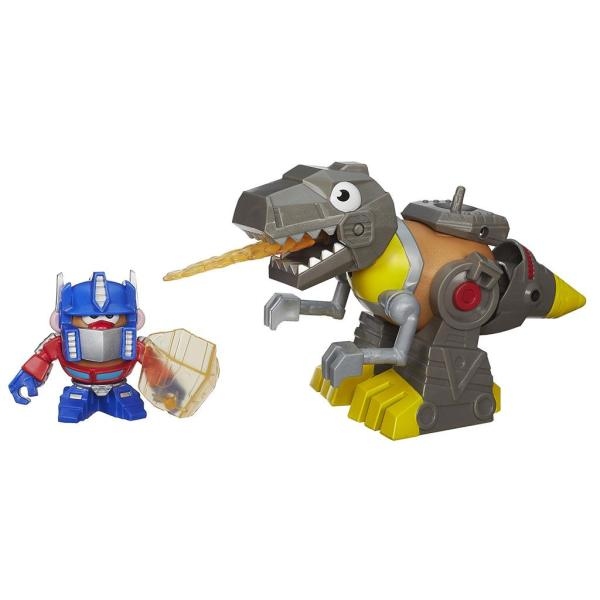 Transformers Potato Robot T-rex Dinosaur Ages 3 Optimus