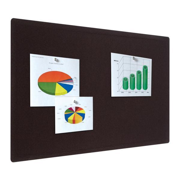Quartet Bulletin Board 4 X 3 Feet Frameless