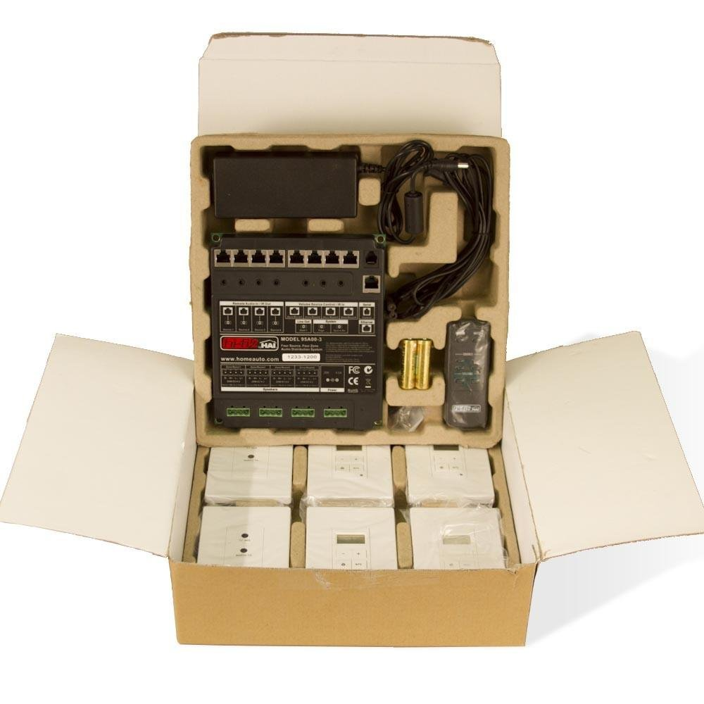 Leviton Hifi 2 4 Zones 4 Sources Kit For Structured Wiring 95a003