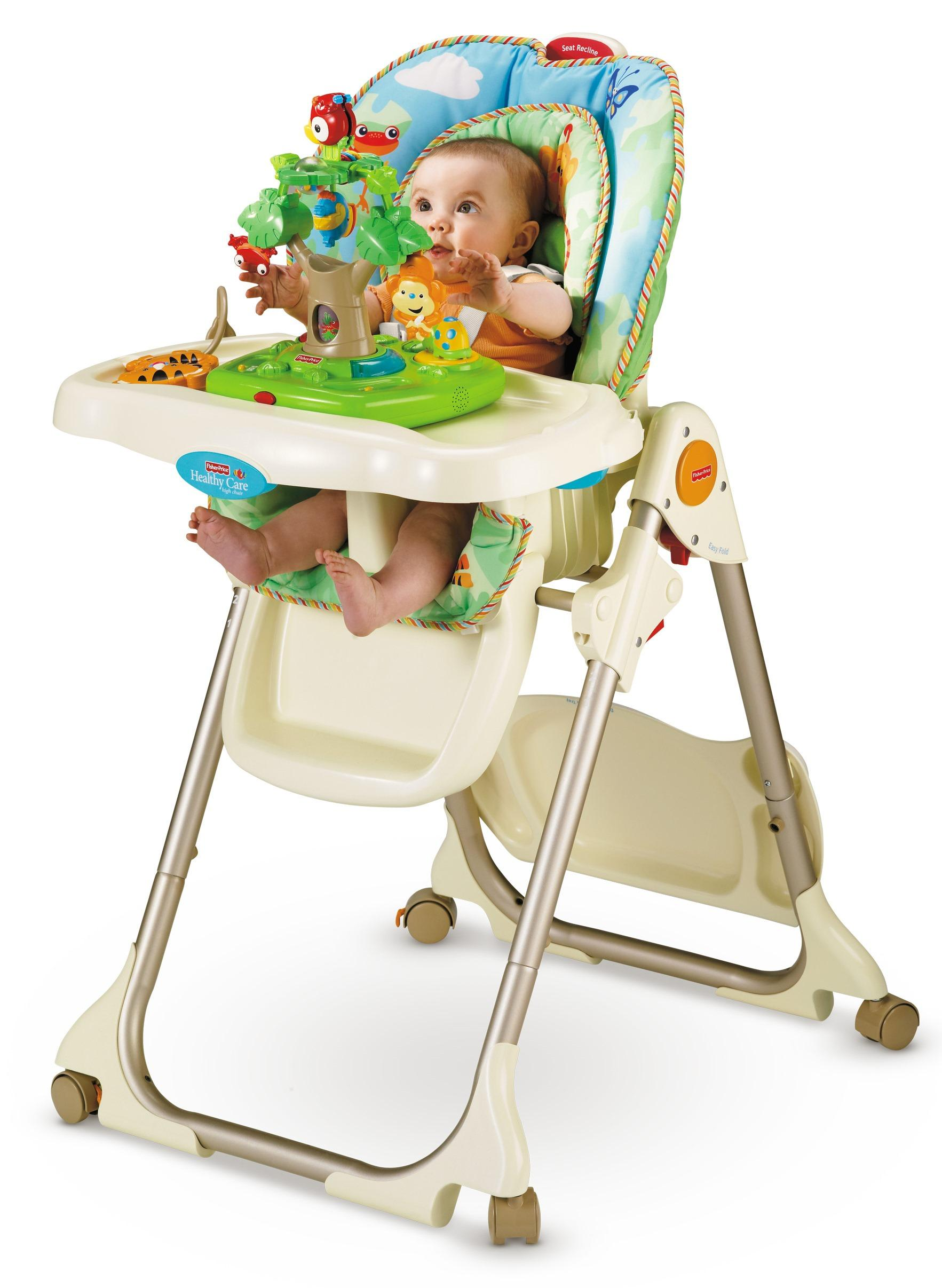 High Chair Fisher Price Amazon Fisher Price Rainforest Healthy Care High