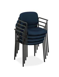 Amazon.com: basyx by HON VL616 Guest Chair with Arms ...
