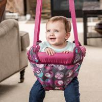 Amazon.com : Evenflo ExerSaucer Door Jumper, Pink Bumbly