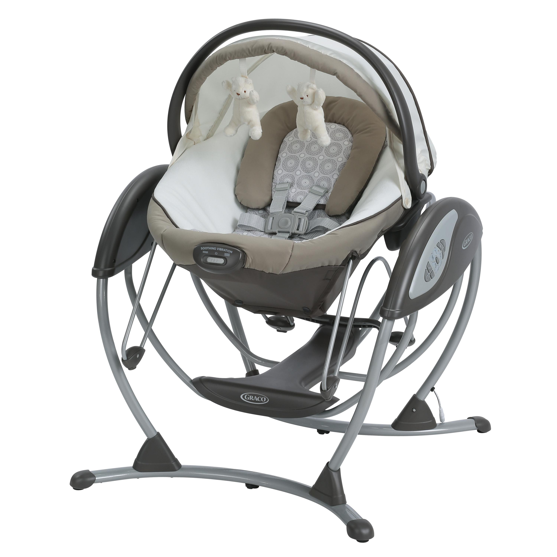 Amazon.com : Graco Soothing System Glider Abbington : Baby