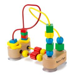 High Chair Suction Toy Hanging The Warehouse Amazon Melissa And Doug First Bead Maze