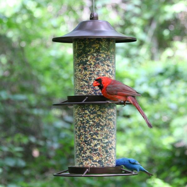 Perky-pet 325s Panorama Bird Feeder Wild Feeders Patio Lawn & Garden