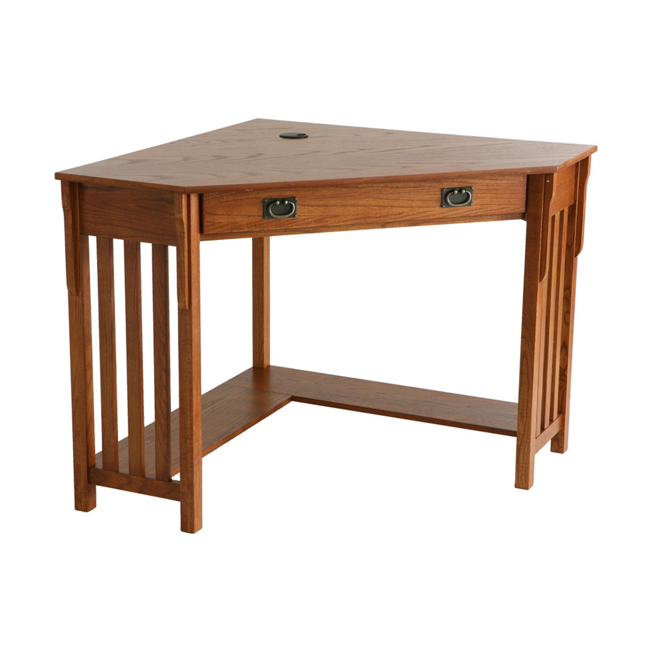Amazoncom  Mission Oak Corner Desk  Southern