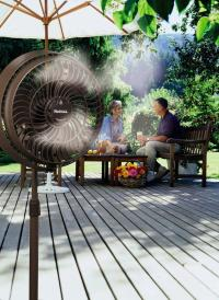Outdoor Misting Fan Cooling Water Portable Mist Spray ...