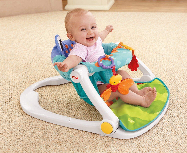 Amazoncom FisherPrice SitMeUp Floor Seat Baby