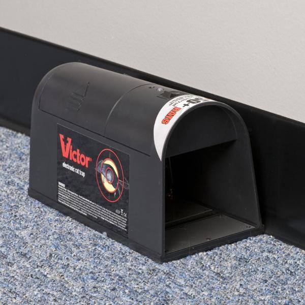 Victor Electronic Rat Trap M240 Home Pest Control Traps Patio Lawn & Garden