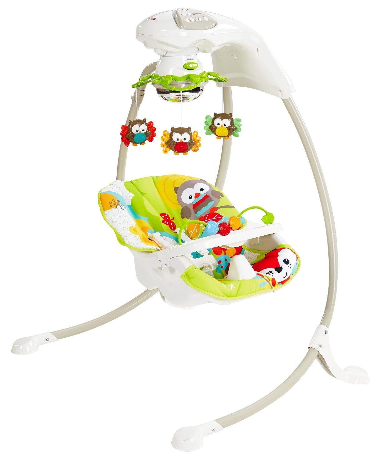 baby chair swinging model no ts bs 16 diy throne fisher price woodland friends cradle n swing