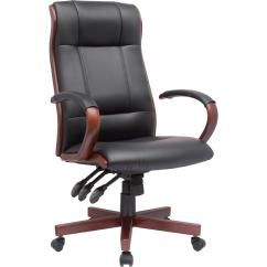 Wooden Executive Office Chairs Navy Blue Dining Uk Amazon Comfort Products 60 5836 Affinity Ergonomic