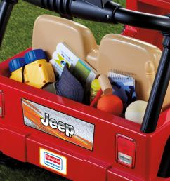 power wheels jeep wrangler kids battery powered toy car 4x4 red ebay power wheels wiring schematic  [ 2000 x 1333 Pixel ]