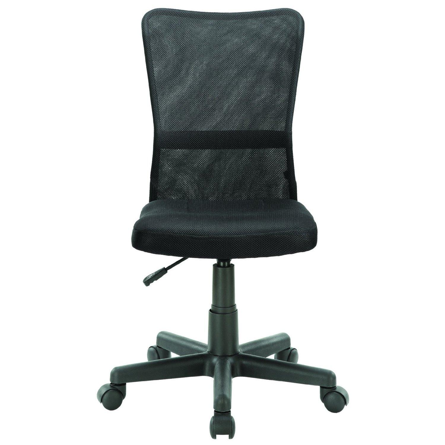 swivel chair not staying up hanging egg with stand uk task office sleek modern compact