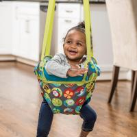 Amazon.com : Evenflo ExerSaucer Door Jumper, Bumbly : Baby