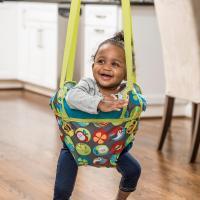 Amazon.com : Evenflo ExerSaucer Door Jumper, Bumbly : Baby