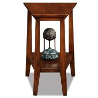 Amazon.com: Leick Delton Recliner Wedge End Table: Kitchen ...