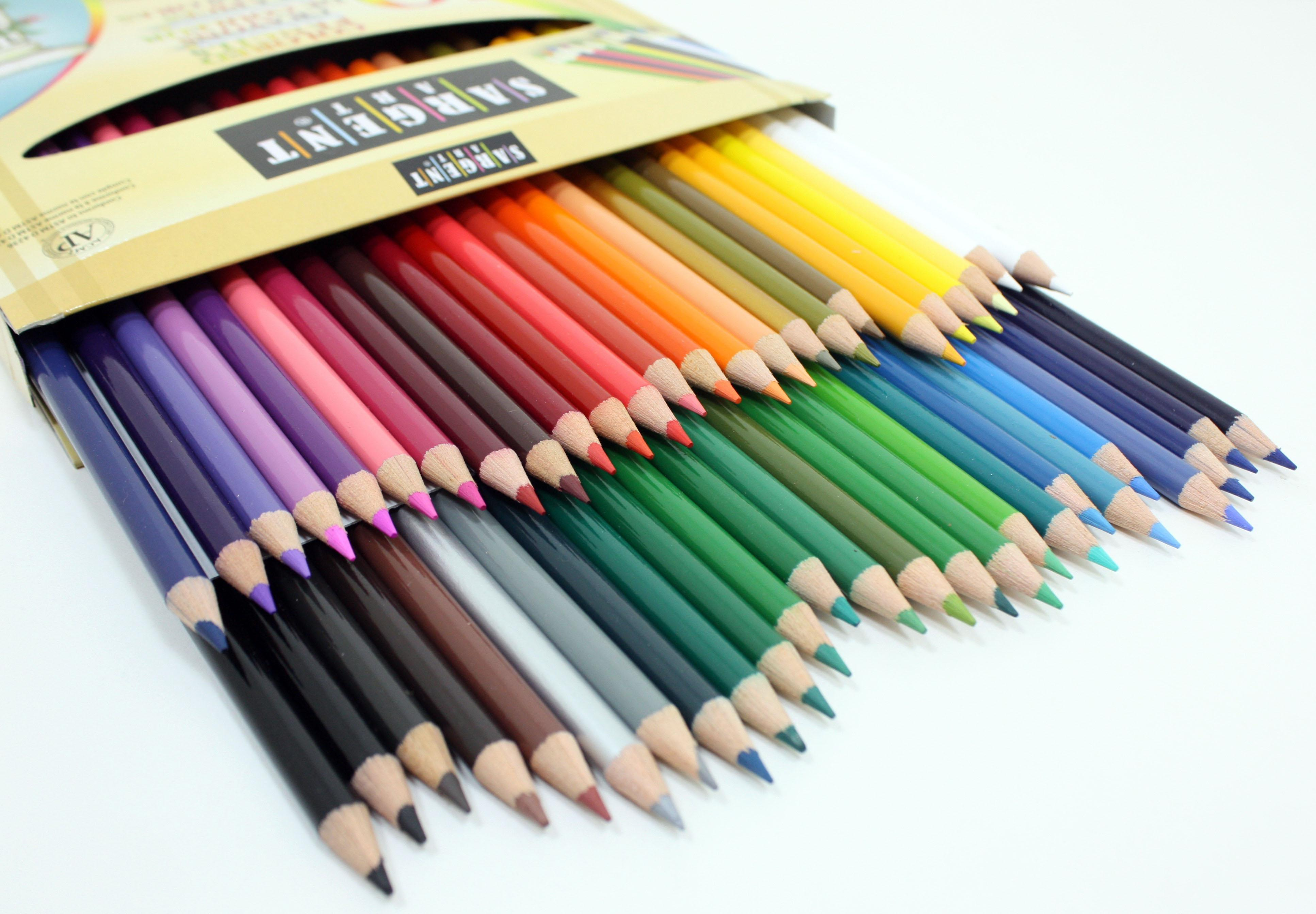 Amazon Sargent Art 22 Colored Pencils Pack Of