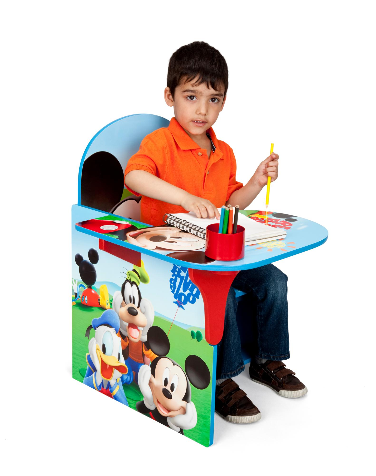 sesame street table and chairs swivel chair torkel amazon delta children desk with storage bin
