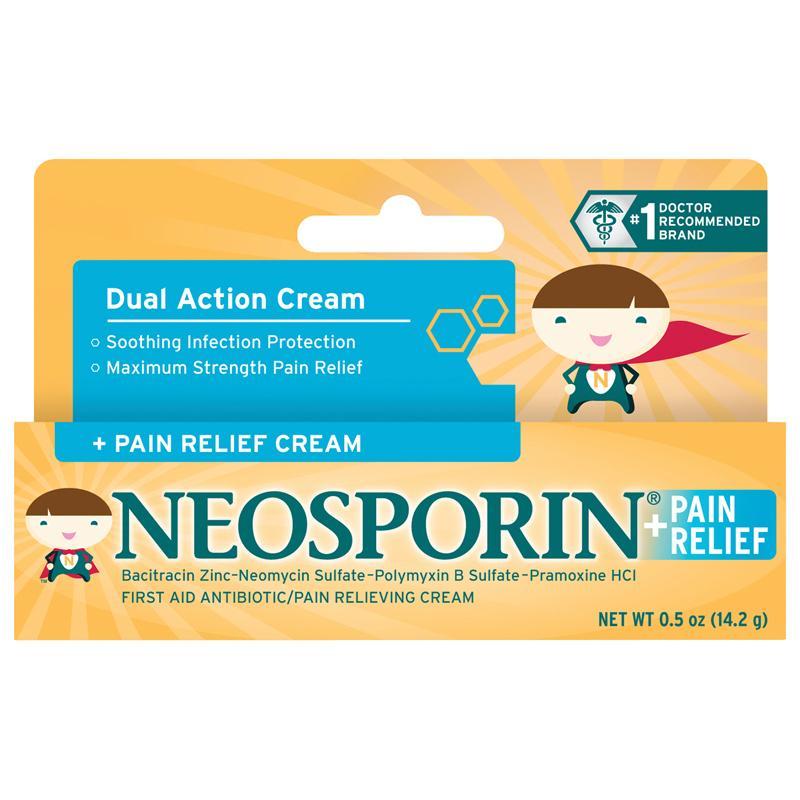 Amazon.com: Neosporin First Aid Antibiotic Cream for Kids ...