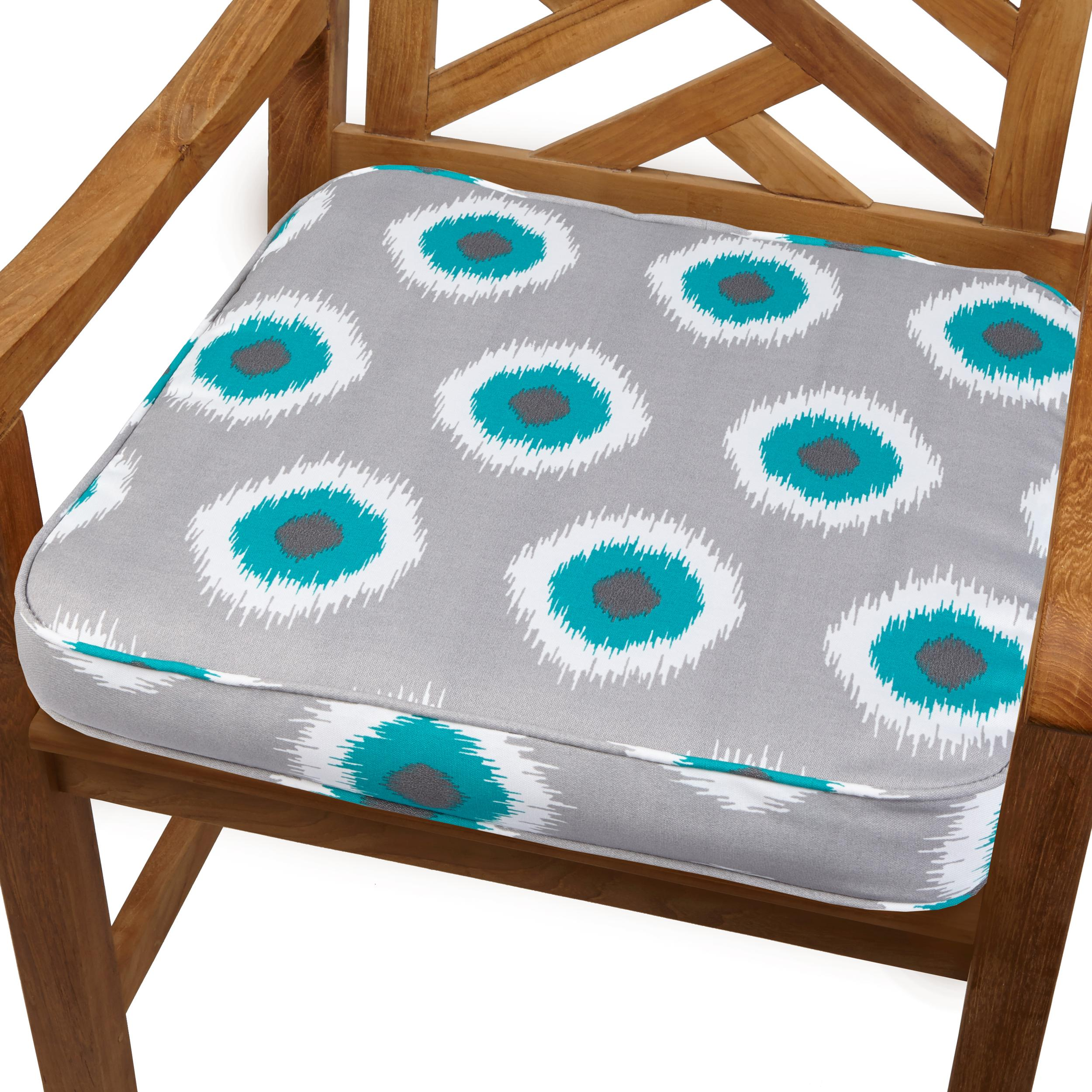 teal chair cushions cb2 leather view larger