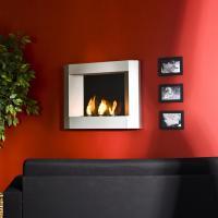 Amazon.com: SEI Contemporary Wall Mount Gel Fuel Fireplace ...