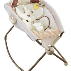 Baby Sleeping Chair Upright Posture Fisher Price My Little Snugapuppy Deluxe Newborn Rock N
