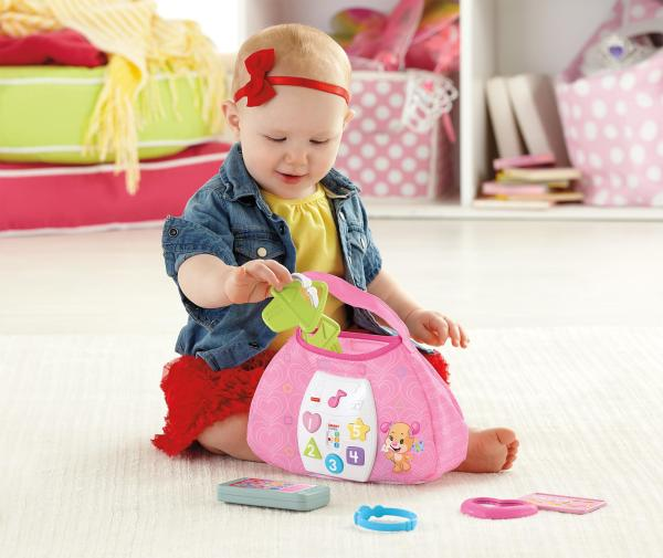 Laugh & Learn Sis' Smart Stages Purse Toys Games