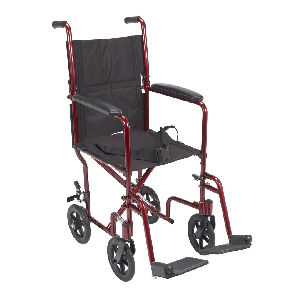wheelchair transport comfy kid chairs amazon drive medical deluxe lightweight aluminum