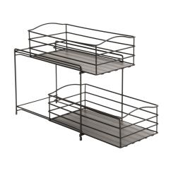 Kitchen Sliding Baskets Drawer Hardware Amazon Seville Classics 2 Tier Basket