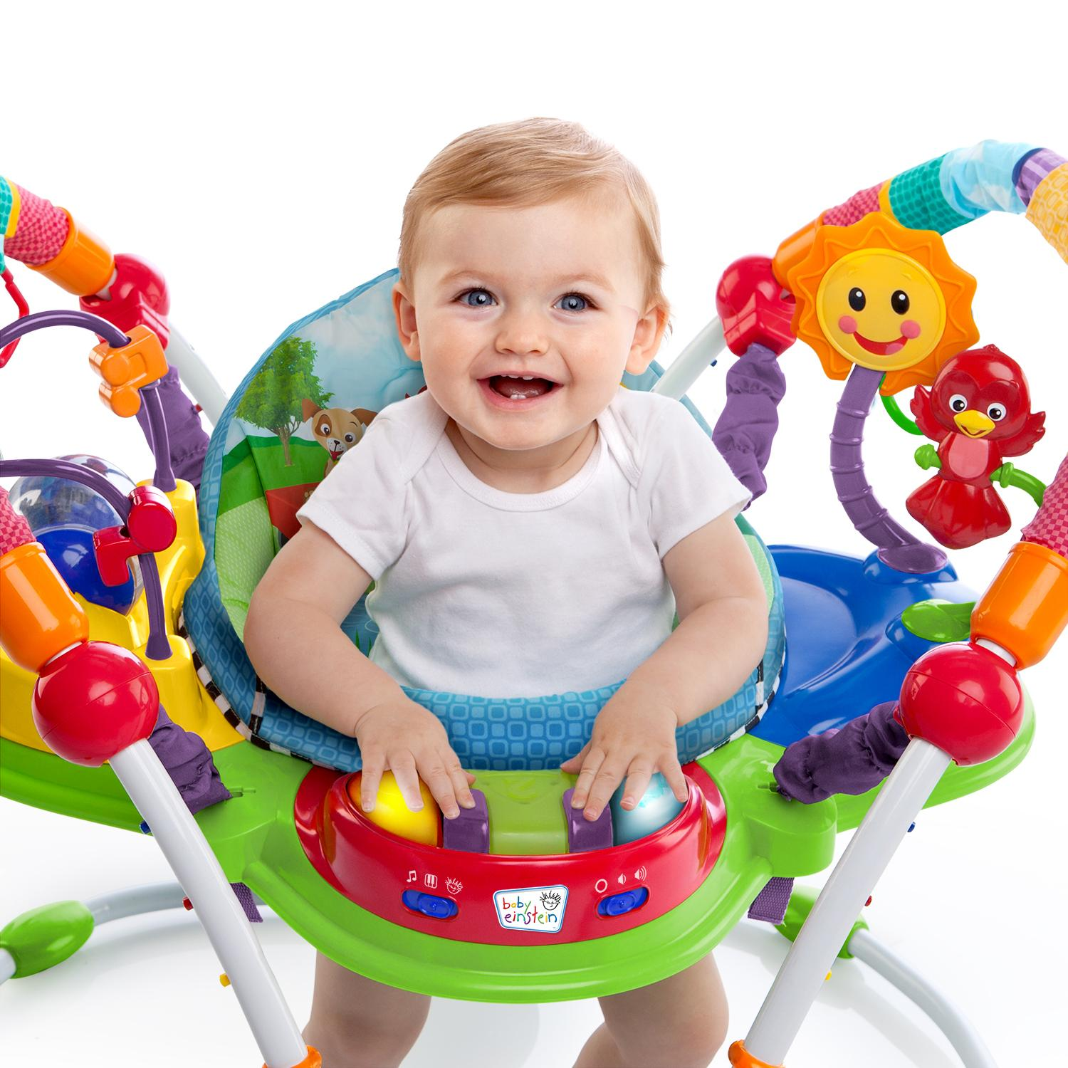 Amazon Baby Einstein Activity Jumper Special Edition Neighborhood Friends Baby