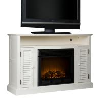 Amazon.com - SEI Antebellum Media Console with Electric ...