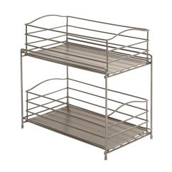Kitchen Sliding Baskets Walnut Cabinets Amazon Seville Classics 2 Tier Basket