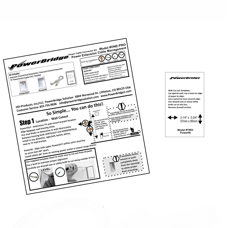 Amazon.com: PowerBridge ONE-PRO-6 Single-Outlet