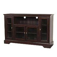 Amazon.com - WE Furniture 52-Inch Highboy Style Wood TV ...